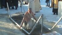 В Шадринске прошло Крещение Господне