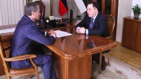 Губернатор встретился с директором ОАО «Курганмашзавод»
