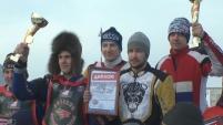 Этапы командного чемпионата России по мотогонкам на льду в Шадринске