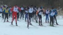 Лыжная гонка детей-инвалидов в Шадринске