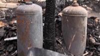 Подробности пожара в селе Лопатки