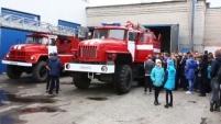 Дети посетили пожарную часть №8