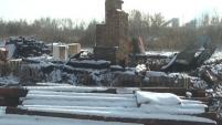В Шадринске сгорел приют «Кошкин дом»