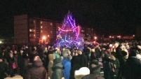 Открытие Новогодней Елки 2016 в Новом Поселке