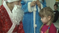 Новогодний праздник в Детской больнице