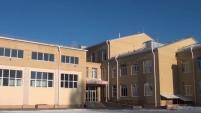 Трещины в здании школы в Далматово