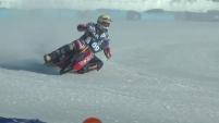 Контрольная тренировка участников чемпионата мира по ледовому спидвею в Шадринске