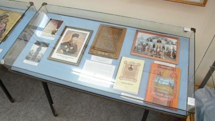 Выставка «Служение Отечеству. Страницы жизни архимандрита Антонина Капустина»