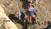 Порыв водоводов в Шадринске