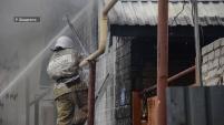 Пожар на ул.Ефремова