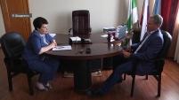 Встреча губернатора Зауралья и главы г. Шадринска