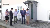 Губернатор оценил состояние дома для переселенцев