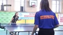 Соревнования по теннису среди инвалидов