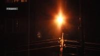 Проблема уличного освещения в Шадринске