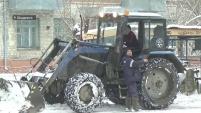 Уборка снега в Шадринске
