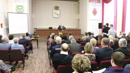 Руководящий состав ГО Шадринска подвел итоги уходящего года