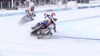 Полуфинал ЛЧР по ледовому спидвею. День первый