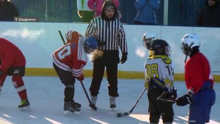 Открытый чемпионат по хоккею среди детских команд