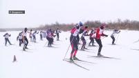 Областные соревнования по лыжным гонкам для детей-инвалидов