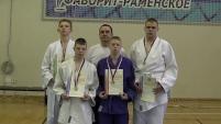 Дзюдоисты шадринской школы-интерната №12 школы стали серебряными призерами первенства России