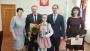 Шадринской школьнице подарен портрет Президента РФ