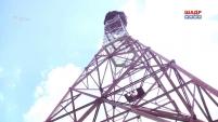 Демонтаж антенно-мачтового сооружения г. Щучье