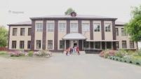 Обновленный фасад шадринской школы № 20
