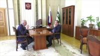 Встреча Вадима Шумкова с генеральным директором АО «Транснефть-Сибирь»