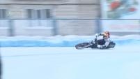 Полуфинал личного чемпионата России по мотогонкам на льду