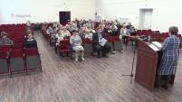 Пленум Совета ветеранов в Шадринске