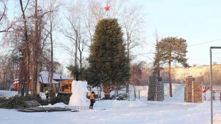 В Шадринске начинается предновогодняя череда мероприятий