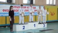 Соревнования по дзюдо между школами-интернатами
