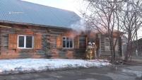 Пожар в доме 46 по ул. Свердлова