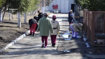 В Шадринске продолжается месячник по благоустройству