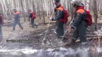 Обстановка с пожарами на территории Курганской области стабилизирована