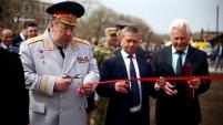 В Катайском районе открылась аллея боевой славы