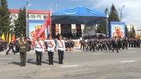 Праздничные мероприятия в День Победы в Шадринске