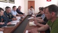 Заседание оперативного штаба КЧС