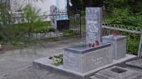 Новая мемориальная плита Александру Лещёву
