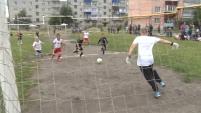 Турнир по футболу в Северном посёлке
