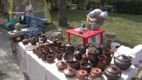Площадка «Город мастеров» на Дне города в Шадринске
