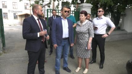 ВрИО Губернатора Вадим Шумков в Шадринске