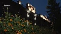 Подсветка исторических зданий в Шадринске