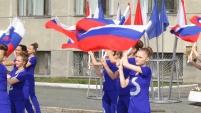 День российского флага в Шадринске