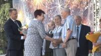 Чествование супружеских пар на Дне города Шадринска