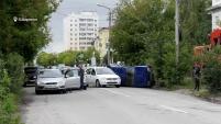 Авария на улице Ленина